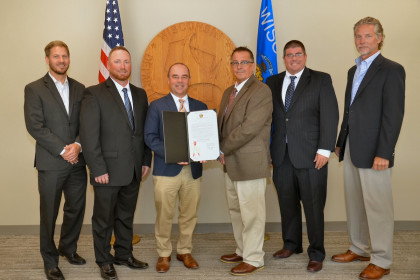 Concrete Pipe Week: County Materials Attends Concrete Pipe Week Proclamation Signings