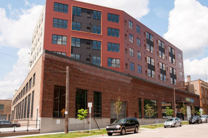 County Materials' Hollowcore Demonstrates Compatibility in  Historic Building Transformation
