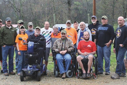 County Materials Honors the Fallen by Helping the Wounded at Camp Hope
