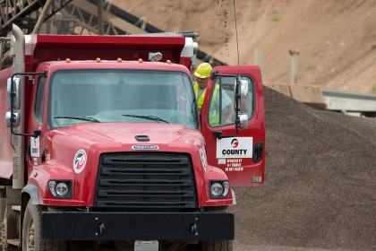 Career Highlight: Dump Truck Driver
