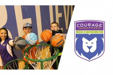 County Materials Sponsorship Helps Open New Courage League Sports Branch