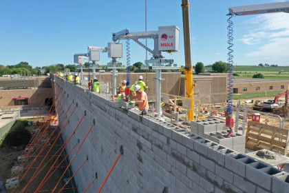 "County Materials' Oversized 32"" Concrete Masonry Unit Provides Evolutionary Concrete Masonry Solution"