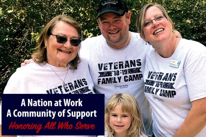 Veterans Family Camps Create Lasting Connections