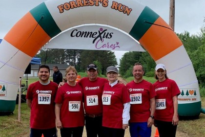 County Materials Sponsors Team for Forrest Goetsch Memorial Run