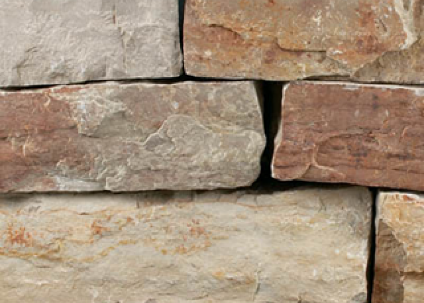 Natural Dry Cut Wall Stone