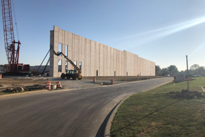 Insulated Sandwich Walls Demonstrate Versatility in Business Park Expansion Project
