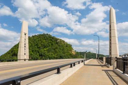 Prestressed Concrete Girders Prove to be Most Economical Solution for Iconic Minnesota-Wisconsin Border Bridge