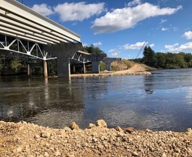 Highway 82 Point Bluff Bridge Project