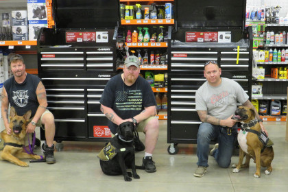 County Materials Partners with Patriot K9s of Wisconsin to Help Veterans and Rescued Service Dogs Reclaim Their Lives
