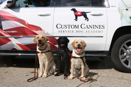 County Materials Assists Custom Canines Service Dog Academy in Providing Heroes for Heroes