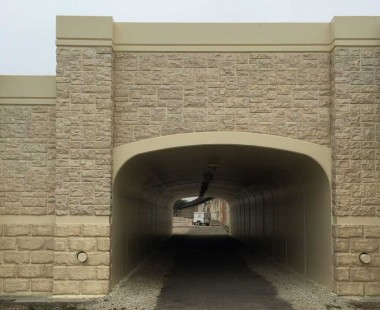 Joliet IL. Archcast Bridge Project