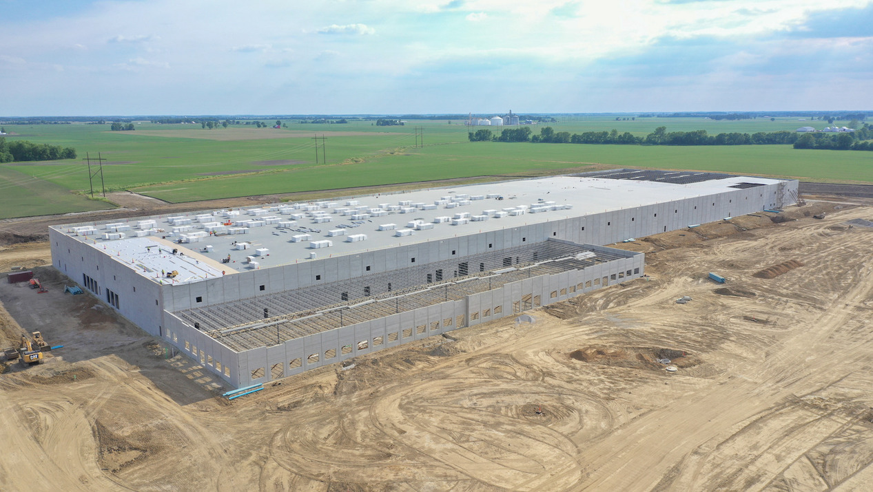 Achieve High-Performance Strength and Cost Savings with  County Materials' Insulated Sandwich Walls