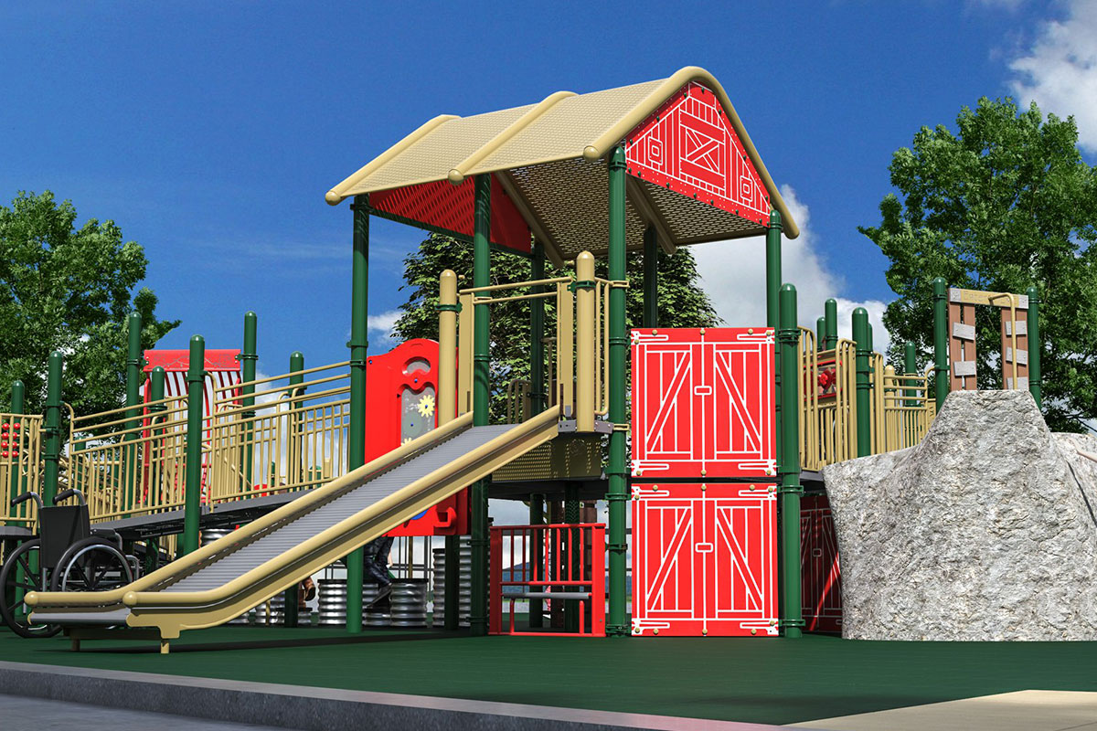 County Materials' Donation Supports Inclusive Community Playground in Salem, IL