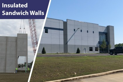 Efficient and Economical Material Choice: Insulated Sandwich Walls