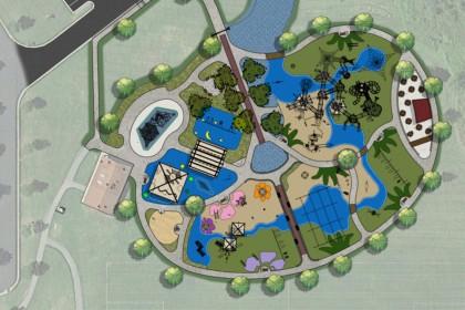 County Materials Donates Ready-Mix to Help Build JoJo's Jungle Special Needs Playground