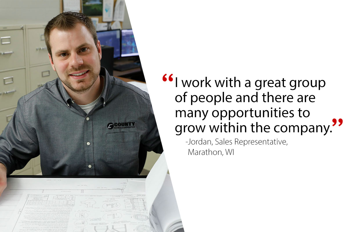 Jordan, Sales Representative-Marathon, WI