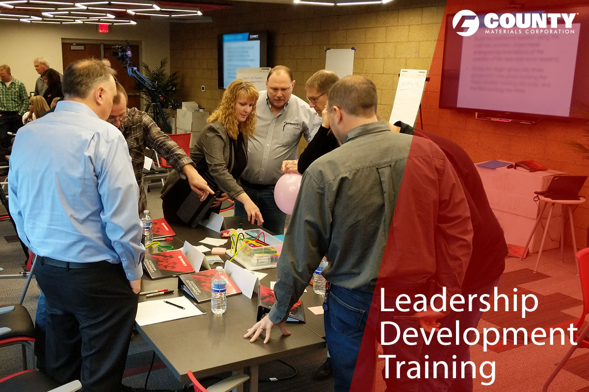 County Materials Invests in Leadership Development
