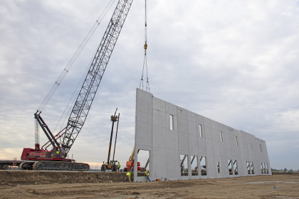 Insulated Sandwich Walls Offer Reduced Life Cycle Cost