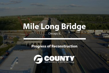Mile Long Bridge - Progress of Reconstruction