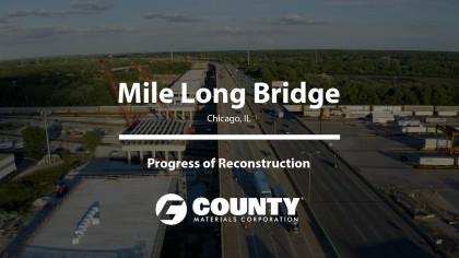 Mile Long Bridge - Progress of Reconstruction