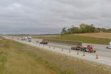 County Materials' Prestressed Bridge Girders Provide Solution to Illinois' Mile-Long Bridge Project