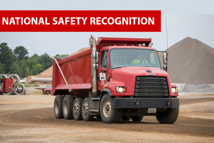 Three County Materials Locations Receive National Safety Recognition