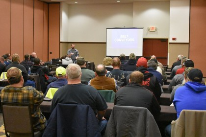 County Materials Hosts Mining and Driver Safety Classes