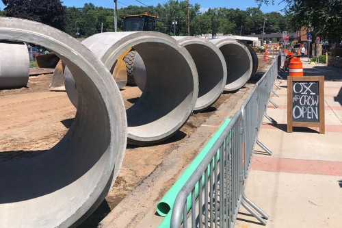 County Materials Produces Round & Elliptical Pipe at Impressive Pace to Speed Up Construction