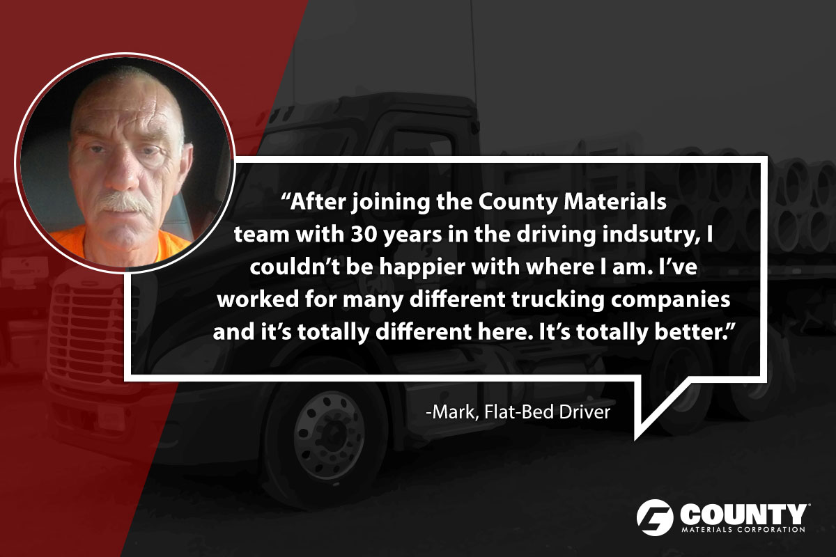 Mark, Flat-Bed Driver