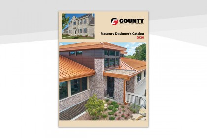 New: 2020 Masonry Designer's Catalog