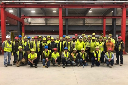 County Materials' Maxwell, IN Location Celebrates Safety Milestone