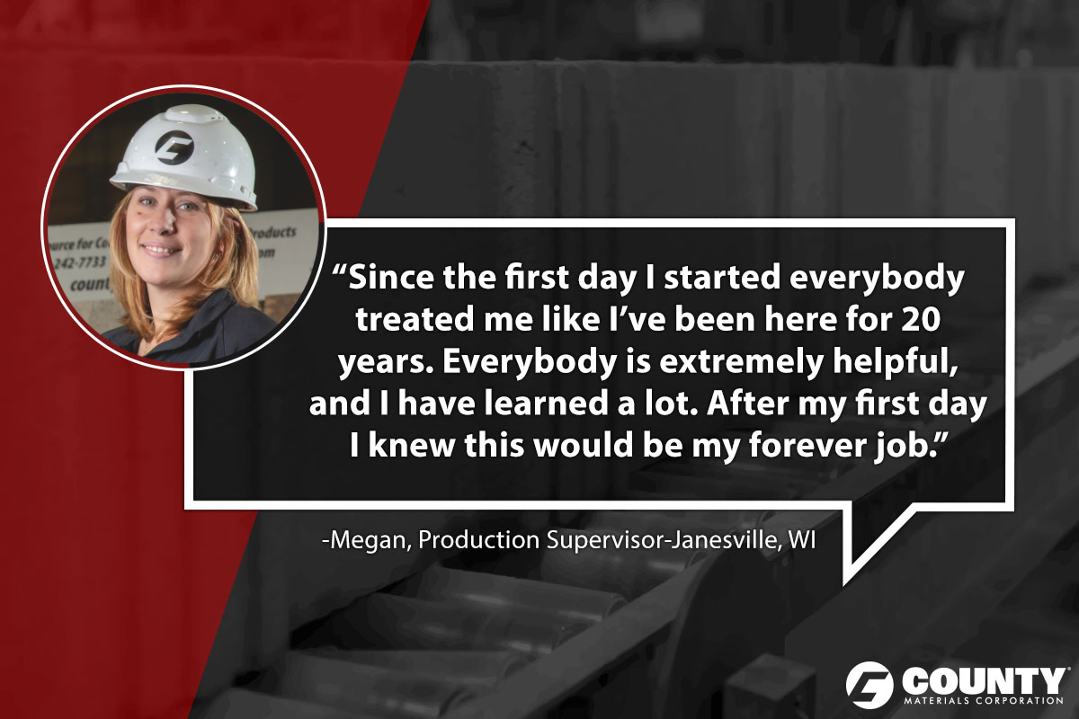 Megan, Production Supervisor-Janesville, WI