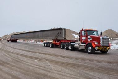County Materials Demonstrates Responsive, Year-Round  Prestressed Bridge Girder Delivery Service