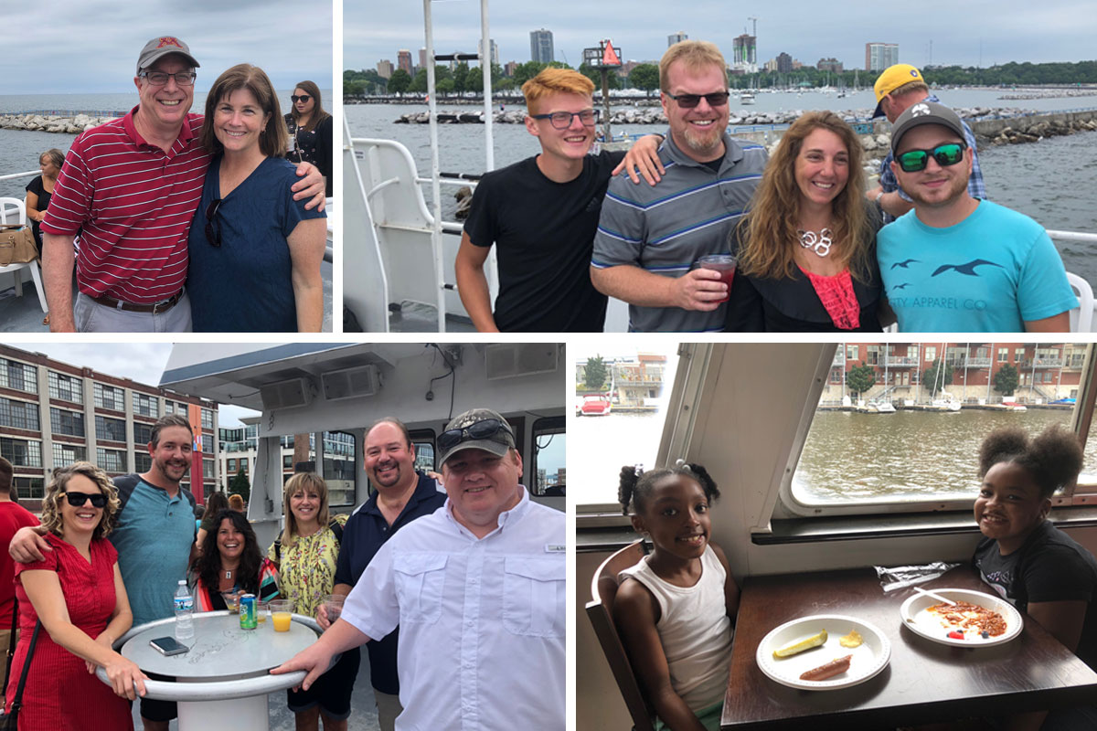 County Materials Sponsors Boat Tour for Milwaukee Based Team Members