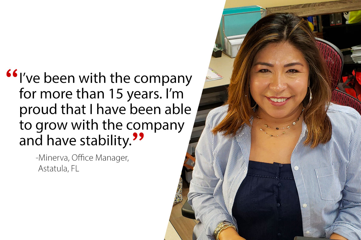 Minerva, Office Manager-Astatula, FL