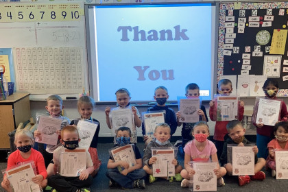 County Materials Participates in United Way of Marathon County's Adopt a Classroom Program to Promote Literacy