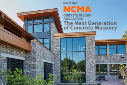 NCMA Course: The Next Generation of Concrete Masonry