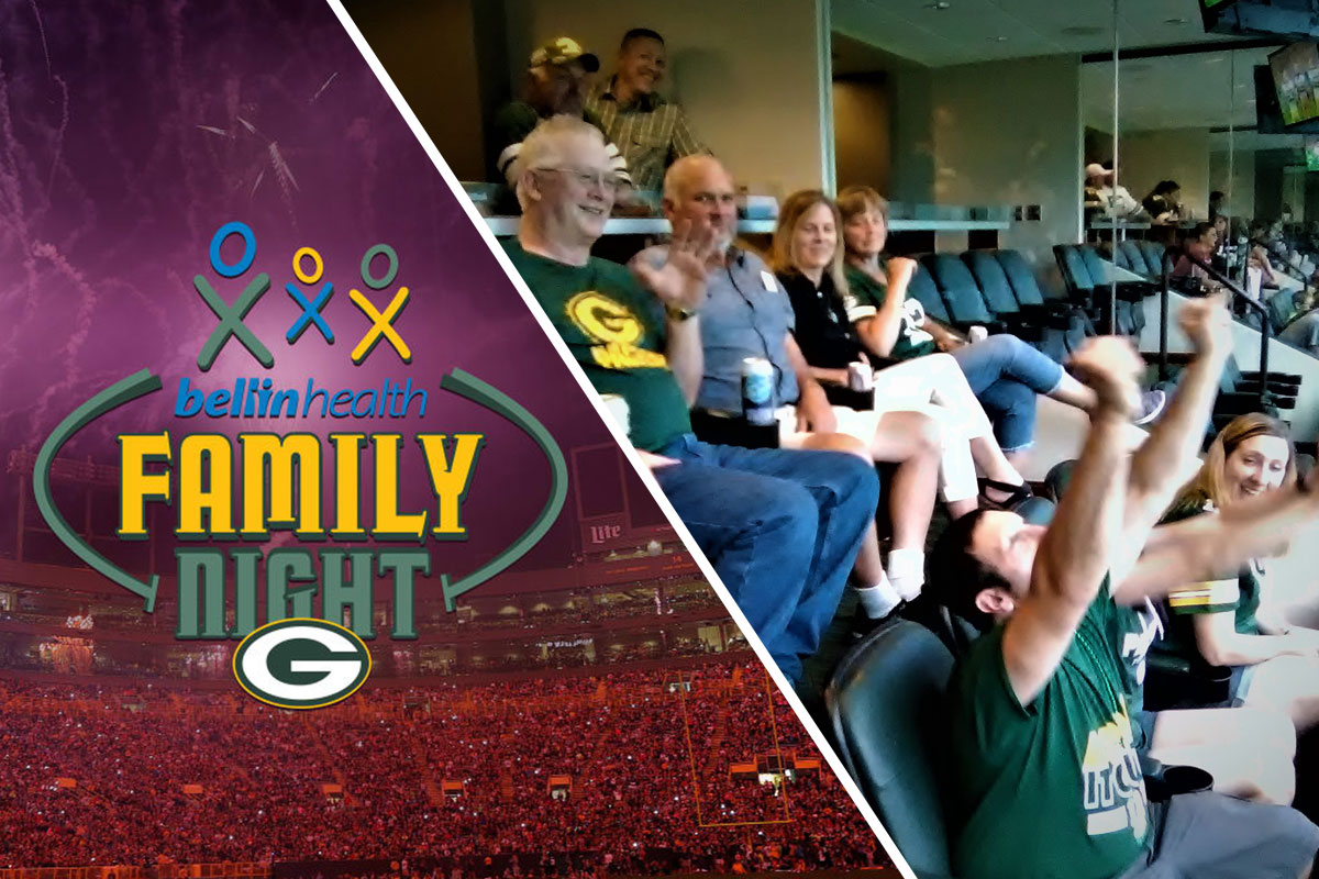 County Materials Celebrates Long-Term Team Members at Packers Family Night