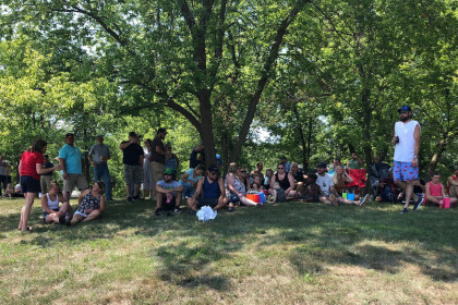 County Materials' Roberts, WI Team Members Raise Funds at Appreciation Picnic