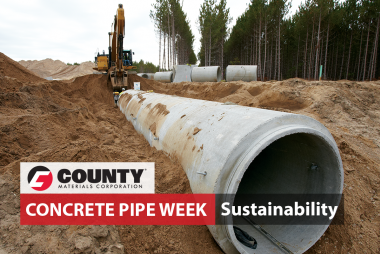 Concrete Pipe: The Best Environmental, Economical & Sustainable Drainage Solution