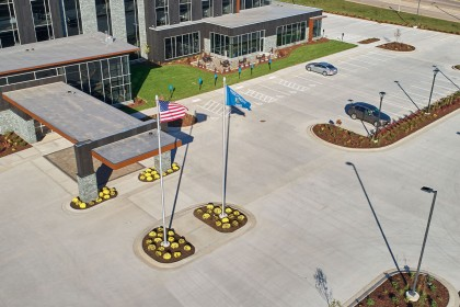 The Advantages of Ready-Mix Concrete Parking Lots