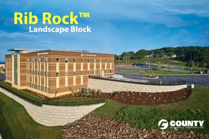 Rib Rock™ Landscape Block Featured in Landscape Contractor Magazine