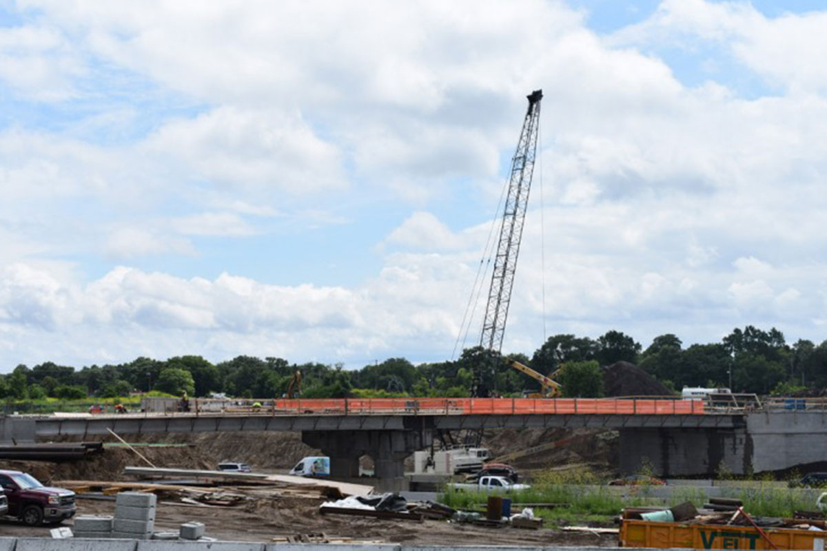 Impressive Delivery of 20 Prestressed Girders in 24 Hours Keeps Roads Open