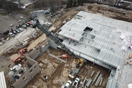 Hollowcore Plank Offers Enhanced Structural Capabilities for  Massive Upscale Multi-Family Housing Complex