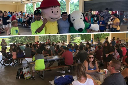 Day of Appreciation at Amusement Park for County Materials' Roberts, WI Team Members