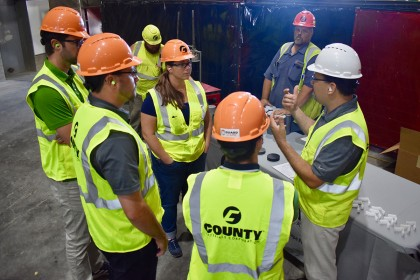 Concrete Pipe Week: Minnesota Engineering Firm Tours County Materials' Roberts Pipe Facility