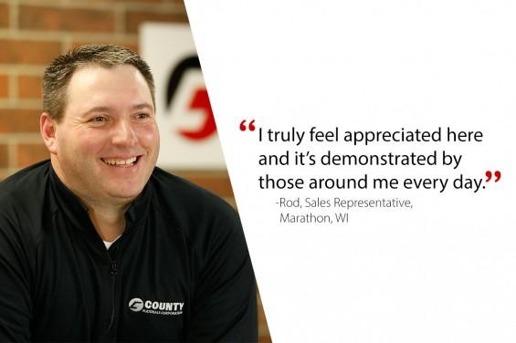 Rod, Sales Representative-Marathon, WI