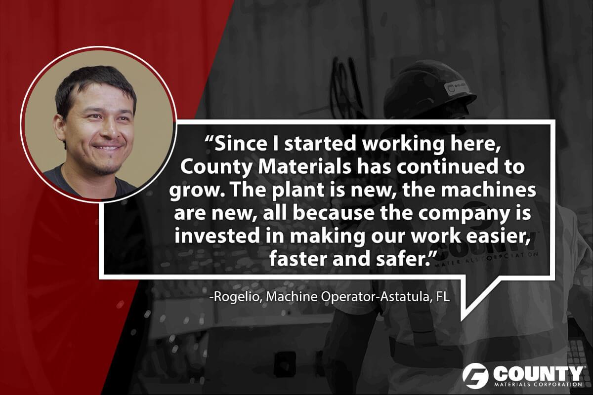 Rogelio, Machine Operator-Astatula, FL