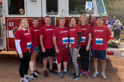 County Materials Team Members Participate in Run for the Fallen Event