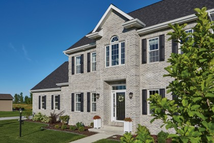 Heritage Collection™ Designer Concrete Brick Offers Value and Design Versatility for New Home Construction